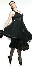 Lip Service Devil Dolls IV Best Sunday Dress Goth Gothic Lolita Halloween Punk S