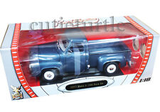 Road Signature Yat Ming 1953 Ford F-100 Pick Up Truck 1:18 Dark Blue 92148