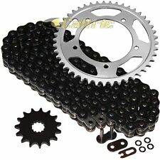 Black O-Ring Drive Chain & Sprockets Kit Fits SUZUKI GSX-R600 GSXR600 2001-2005