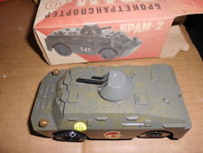 ARMOURED CAR MADE IN USSR BOXED 1.43