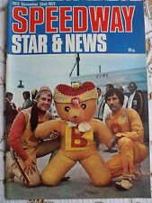 Speedway Star and News 25th December 1971