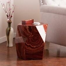 Harper Blvd Coffey Red Marble Faux Stone Accent Table Coffee Modern Furniture