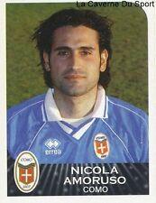 NICOLA AMORUSO ITALIA COMO CALCIO RARE UPDATE STICKER CALCIATORI 2003 PANINI