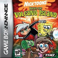 Nicktoons: Battle For Volcano Island for GBA L@@K New !