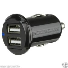 Genuine SCOSCHE USBC242M 12 Watt 2-Port Dual USB Car Charger in Retail Package