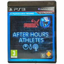 After Hours Athletes (PS3) Sony Party Bowling Darts Pool Kids Boys Move Game PAL