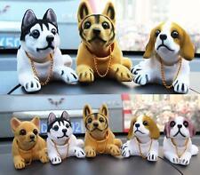Car Styling Cute Dog Doll Shaking Head Nodding Dog For Car Decoration Ornament