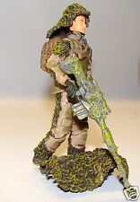 1:18 BBI Elite Force U.S Ranger Sniper w/ Barret Rifle Figure Soldier 3 3/4""