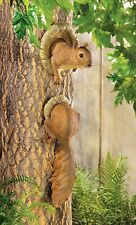 Squirrel Tree Statue - Yard Garden Decor