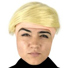 Donald Trump Child Headpiece with Wig, Comical, Funny, Cool Kids Accessory