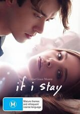 If I Stay  (Dvd) Chloë Grace Moretz, Jamie Blackley, Drama, Romance Film