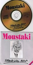 Moustaki, Georges Brand New Album 24 Karat Gold CD RAR