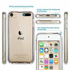 Real Clear thin Flexible TPU Gel Soft Back Cover Case For Apple Ipod 6 (TOUCH 6)