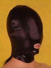 Spandex Latex Hood Full Mask Mouth Open Club Party Doomsday Costume DH H003B