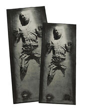 "Star Wars: Han Solo in Carbonite Rug - Han Solo Large/X-Large Rug 39"" x 90 1/2"""