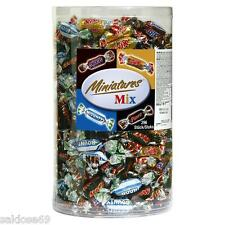 1 box a 3kg Mars Miniatures MIX BOX SNICKERS Twix Bounty mini linguetta 296