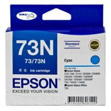 NEW Epson 73 T0732 T073220 Cyan Ink Cartridge CX5900 GENUINE