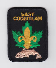 SCOUT OF CANADA - CANADIAN SCOUTS BRITISH COLUMBIA (BC) EAST COQUITLAM Patch
