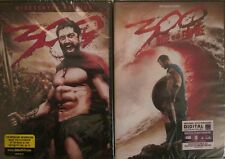 300 1-2: Rise of an Empire- Spartans- Gerard Butler- Lena Headey- NEW 2 DVD