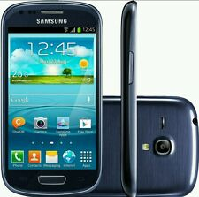 Sim Free Brand New SAMSUNG GALAXY S3 mini GT-I8190N MARBLE Blue UNLOCKED 8-GB