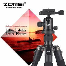 Aluminium Tripod&Ball Head Travel for DSLR Camera Portable Professional HOT