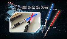 Star Wars Jedi Knight Rogue One Limited Edition LED Light Up Pen RED+BLUE New DE