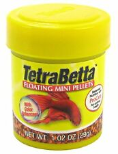 Tetra Betta Floating Mini Pellets 1.02 oz Direct from Manufacture Free Shipping