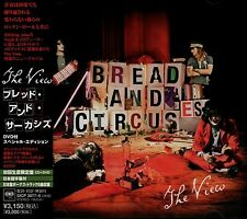 THE VIEW Bread And Circuses +6 JAPAN LTD CD DVD OBI SICP 3077-8 Youth The Verve