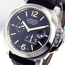 UNWORN PANERAI PAM 90 STEEL 44 mm LUMINOR POWER RESERVE PAM 00090