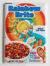 Rainbow Brite Cereal Box FRIDGE MAGNET (2 x 3 inches) cartoon 80's doll bright
