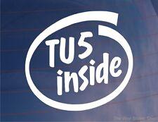 TU5 INTERIOR Coche De La Novedad/Ventana/Pegatina De Parachoques Citroen Saxo/C2