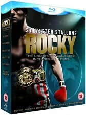 ROCKY Complete Boxing Movie Films Collection Part 1 2 3 4 5 BALBOA Bluray Boxset