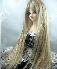 "1/3 8-9"" Dal.Pullip.BJD.SD DOC DOD DZ LUTS supper dollfie doll brown wig hair E"
