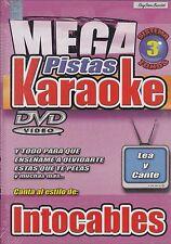 Intocable  Mega Pistas Karaoke  New Nuevo Sealed