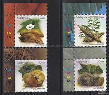 [SS] Malaysia 2009 Tuber Plants TOP LEFT STAMP SET