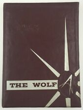 1963 Little Rock Tech High School Yearbook Arkansas The Wolf - James Middlebrook