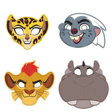 8 Disney The Lion Guard King Childrens Birthday Paper Party Favor Masks