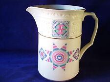 Lenox Album Quilt Pitcher USA Retro Vintage Porcelain Retired Pattern 1989 34oz