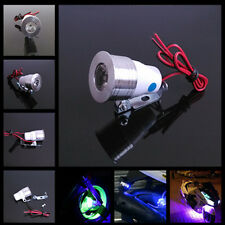 12V Motorcycle Blue LED Strobe Flash Warning Signal Spot Light Lamp For Suzuki