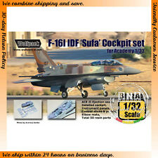 Wolfpack WP32030 1/32 F-16I IDF 'Sufa' Cockpit Set for Academy kit