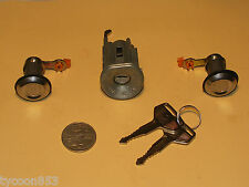 NEW IGNITION BARREL & 2 DOOR LOCKS SUIT TOYOTA CORONA HILUX 4RUNNER LANDCRUISER