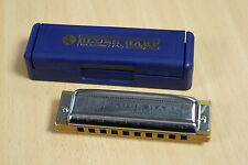 Harmonica diatonique Hohner MS Blues Harp 10 trous en Do / C  NEUF. Sommier bois