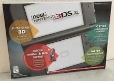 Brand New Nintendo New 3DS XL Black Handheld System