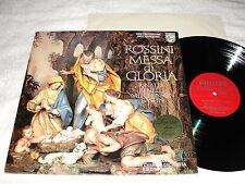 """Handt/English Chamber Orch """"Rossini: Messa di Gloria"""" 1973 LP, Nice NM!, Philips"""