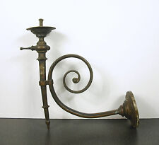 Candle sconce Wall mounted Candlesticks applique murale bougeoir vers 1930