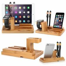Charging Dock Station Charger Holder Stand For Apple Watch iWatch iPhone 6 i Pad