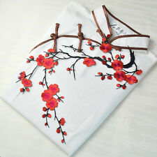 Ecusson Patch Prune Fleur écusson Thermocollant Chapeau SAC Jeans Robe Applique