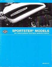 2007 Harley Sportster Electrical Diagnostic Repair Service Manual 99495-07