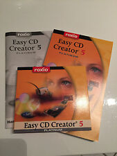 Roxio Easy CD Creator 5 Platinum MP3 Video Music Data Photo Recording Software