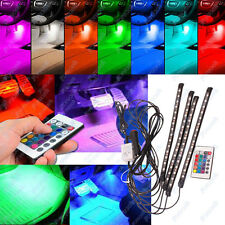 Remote Control Colorful RGB Car 15 LED Interior Floor Decorative Floor Lights